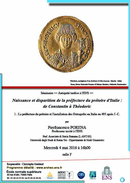 Documentation liée aux séminaires sur le monde romain - UMR