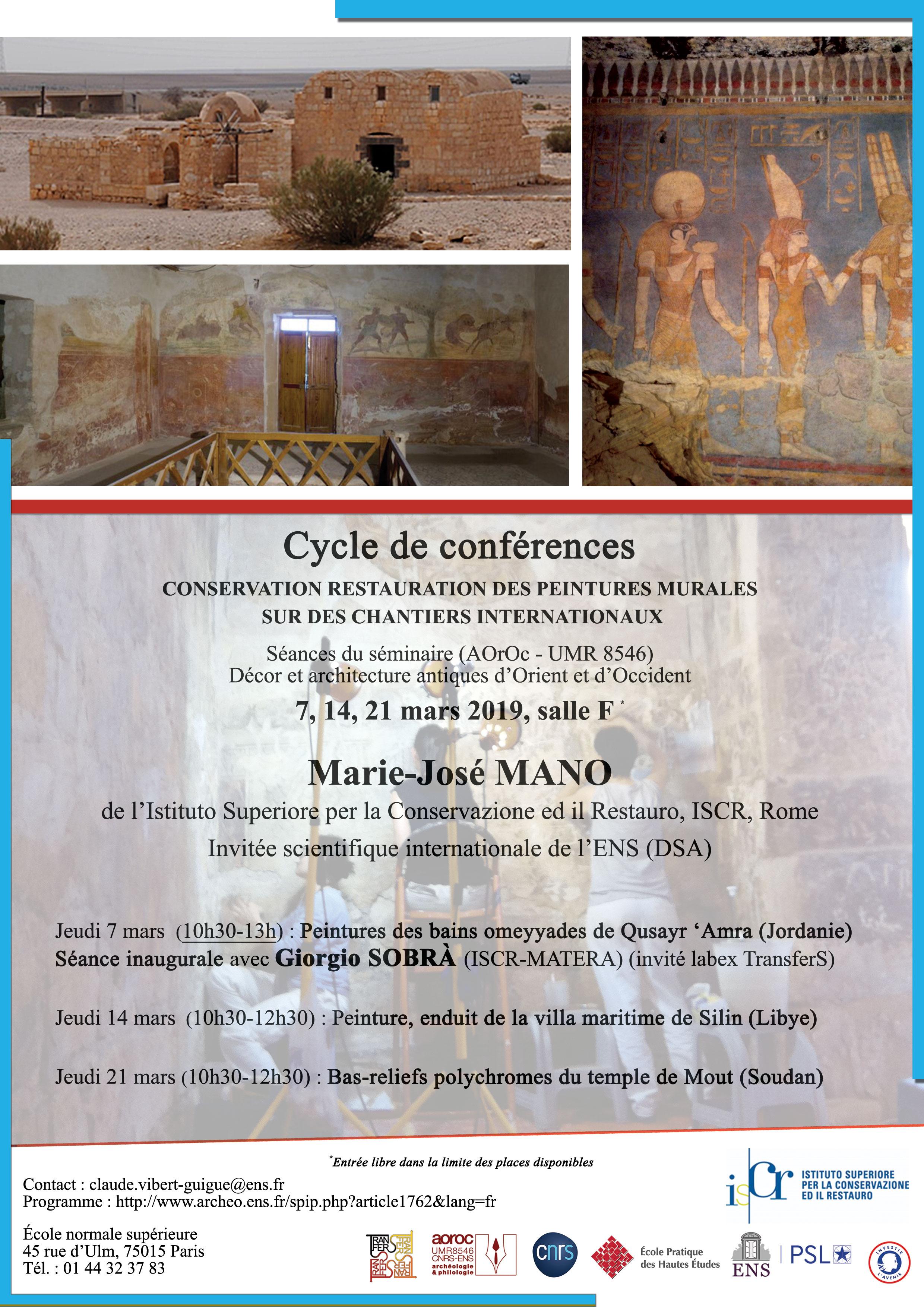 Conservation Restauration Des Peintures Murales Sur Des